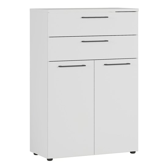 Agenda Filing Cabinet In Light Grey With 2 Drawers