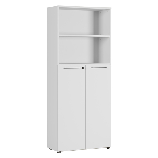Agenda Storage Cabinet In Light Grey