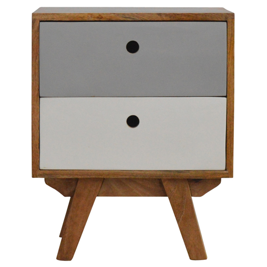 Agoura Wooden Bedside Cabinet In Oak Ish And Grey_2