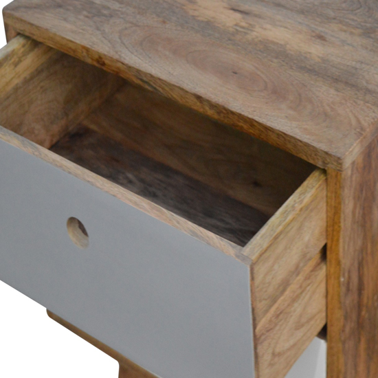 Agoura Wooden Bedside Cabinet In Oak Ish And Grey_3