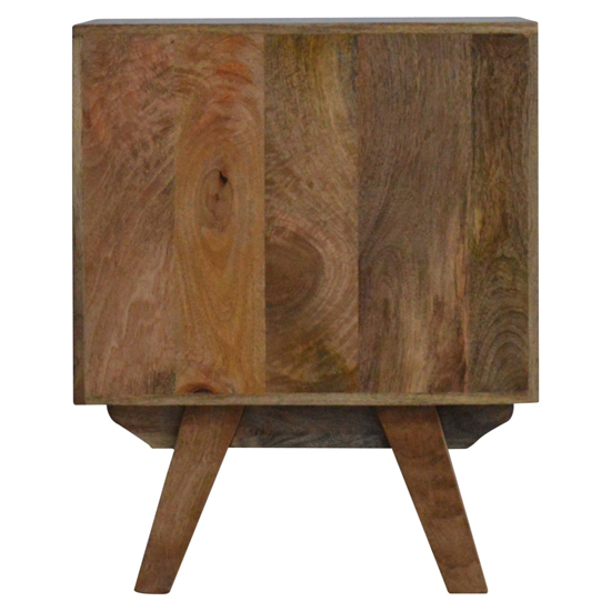 Agoura Wooden Bedside Cabinet In Oak Ish And Grey_4