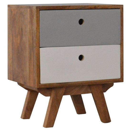 Agoura Wooden Bedside Cabinet In Oak Ish And Grey_1