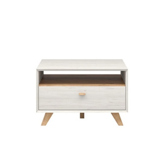 Aiden Wooden Coffee Table In Pine White And Navarra Oak_3