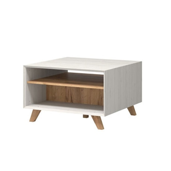 Aiden Wooden Coffee Table In Pine White And Navarra Oak_2