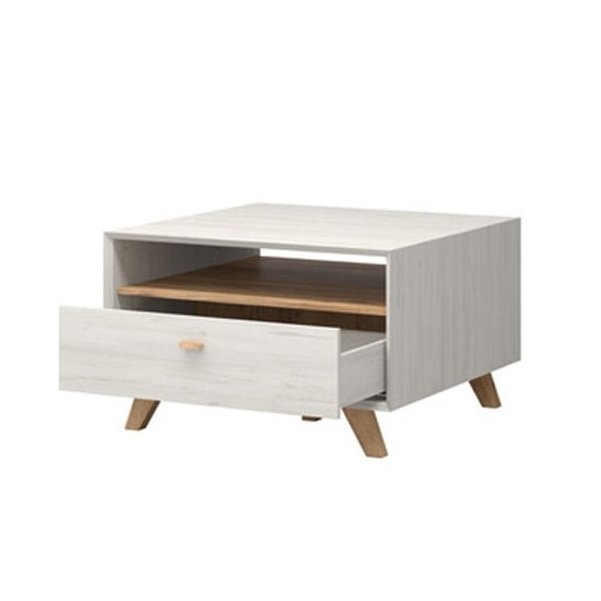 Aiden Wooden Coffee Table In Pine White And Navarra Oak_4