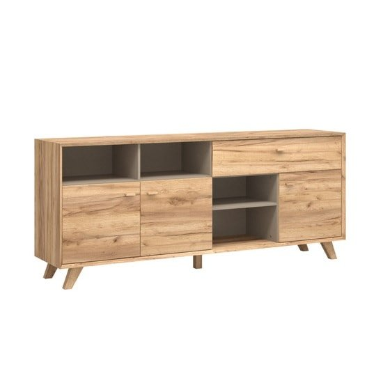 Aiden Wooden Sideboard In Navarra Oak And Stone Grey_1