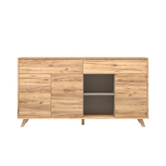 Aiden Contemporary Sideboard In Navarra Oak And Stone Grey_2