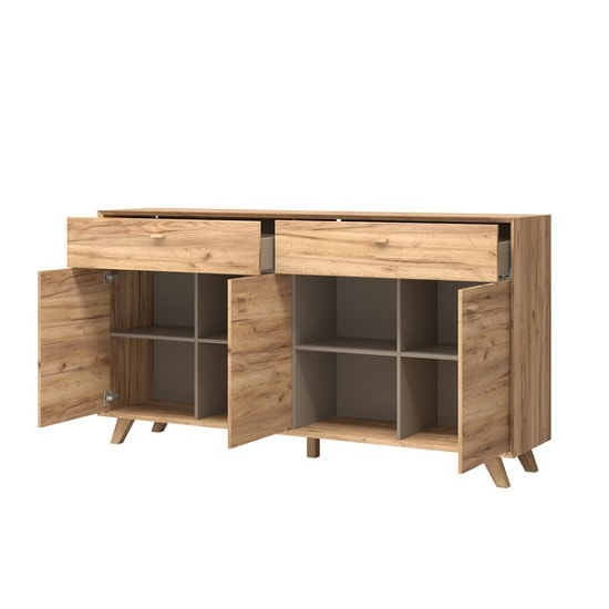 Aiden Contemporary Sideboard In Navarra Oak And Stone Grey_3