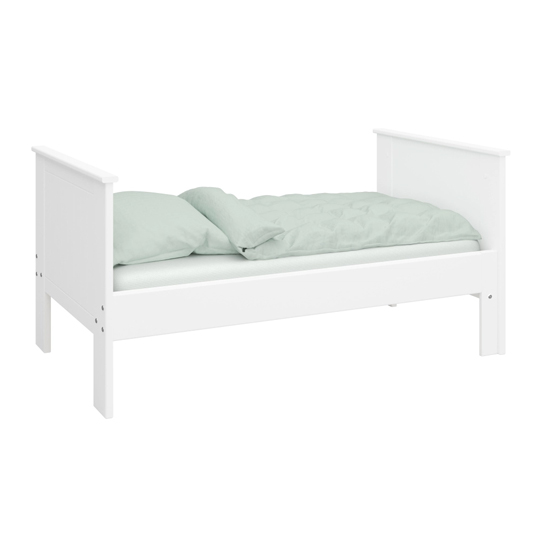 Alba Wooden Children Pull-out Bed In White_2