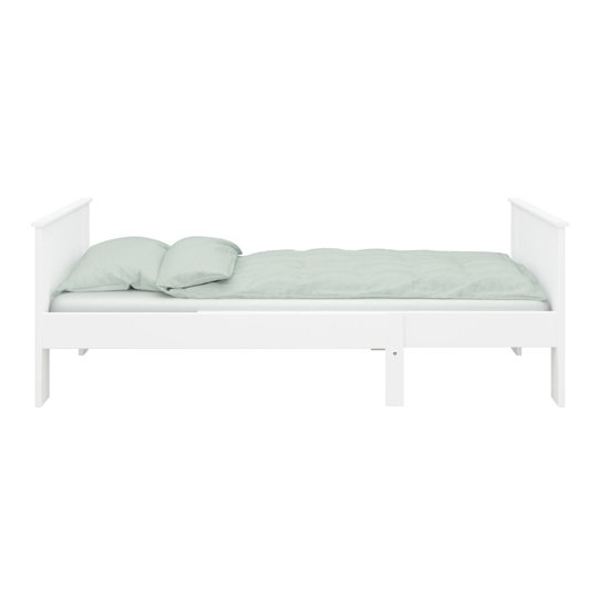 Alba Wooden Children Pull-out Bed In White_3