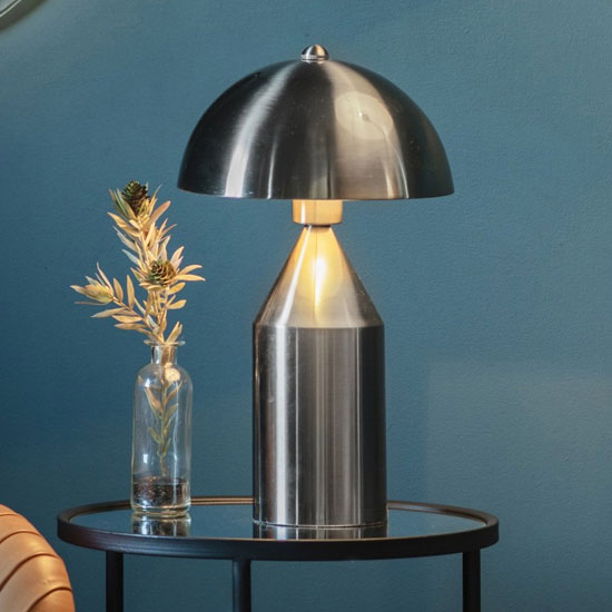 Albany Table Lamp In Brushed Nickel