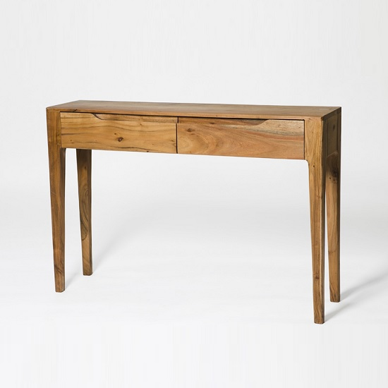 Allegro Wooden Console Table Rectangular In Acacia Wood