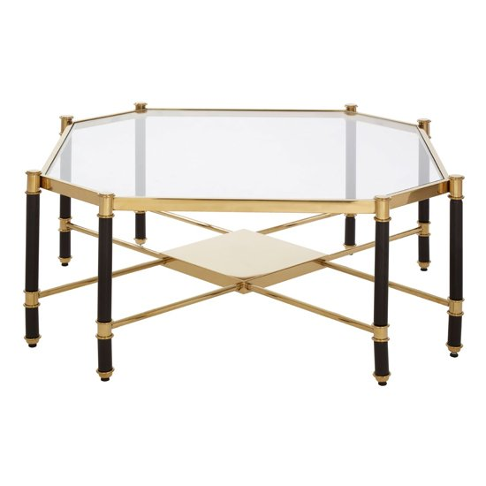 Allessi Glass Coffee Table In Champagne