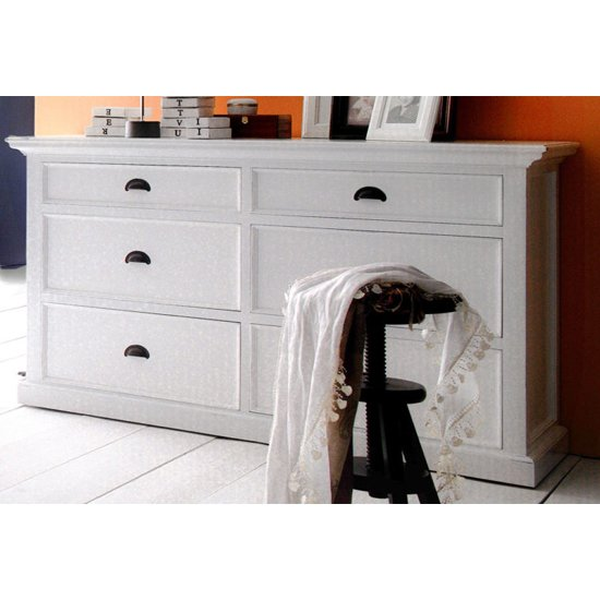 Allthorp Chest Of Drawers In Classic White With 6 Drawers_1