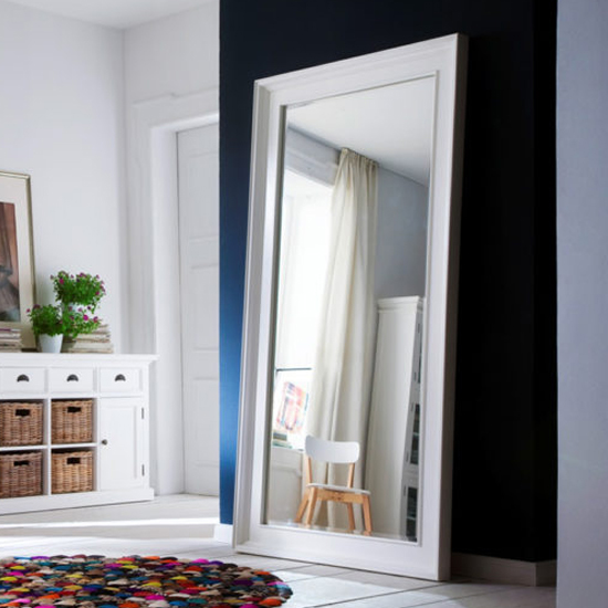 Allthorp Grand Bedroom Mirror In Classic White