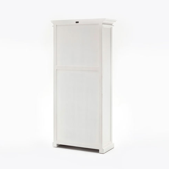 Allthorp Large Wooden Display Cabinet In Classic White_4