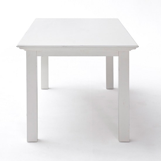 Allthorp Solid Wood Dining Table Rectangular In White_3