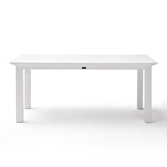 Allthorp Solid Wood Dining Table Rectangular In White_2
