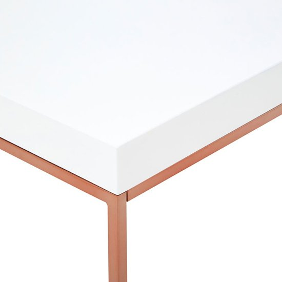 Alluras Console Table With Rose Gold Legs     _4