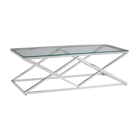 Alluras Inverted Prism Base Coffee Table With Glass Top   _2