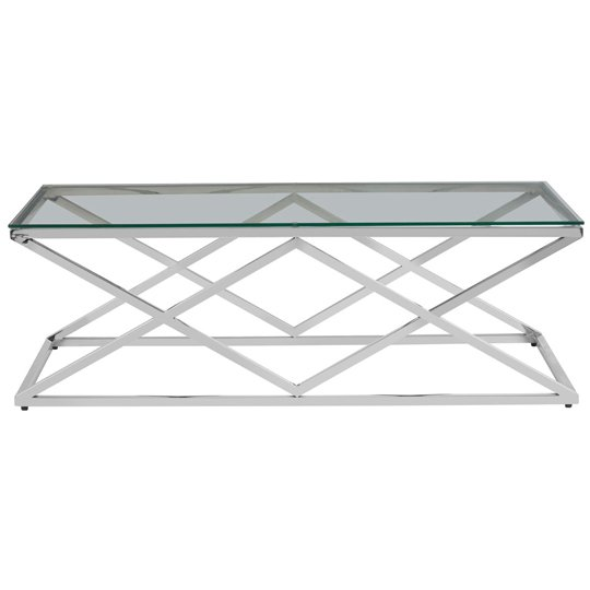 Alluras Inverted Prism Base Coffee Table With Glass Top   _1