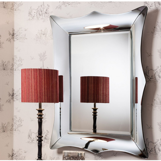 Alme Designer Rectangular Wall Mirror