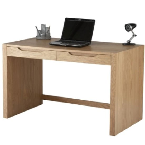 Splice Home Office Computer Desk In Oak