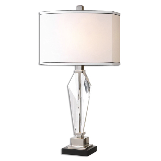 Altavilla Table Lamp With Polished Nickel Plated Details