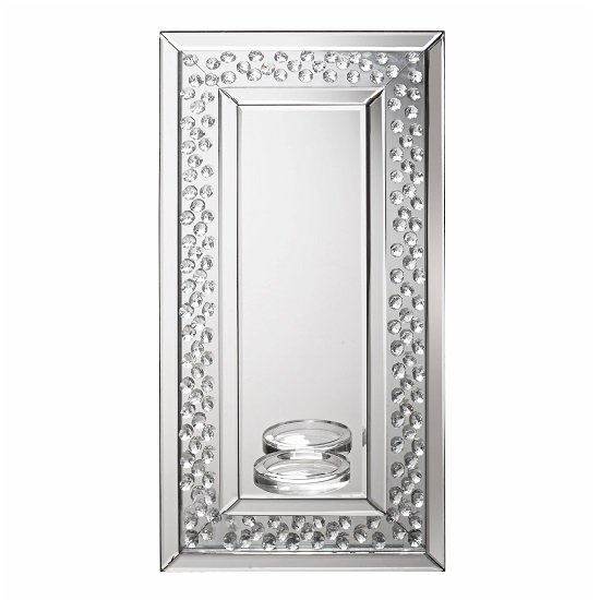Alvaro Rectangular Sconce Wall Mirror