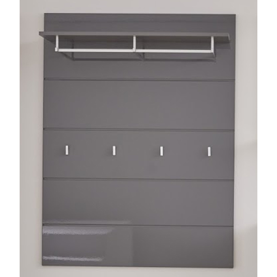 Amanda Coat Rack In Grey High Gloss_1