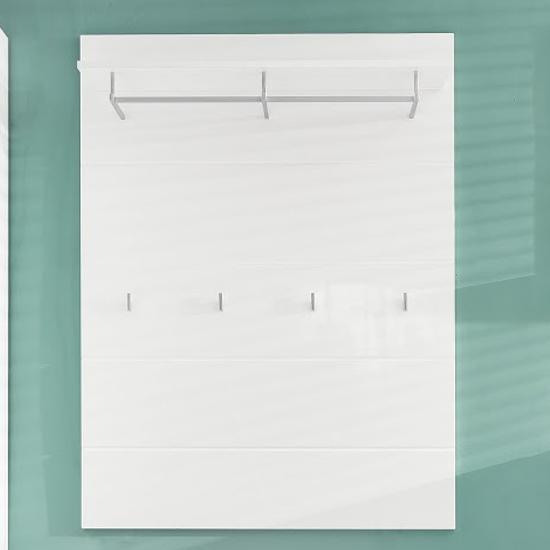 Amanda Coat Rack In White High Gloss_2