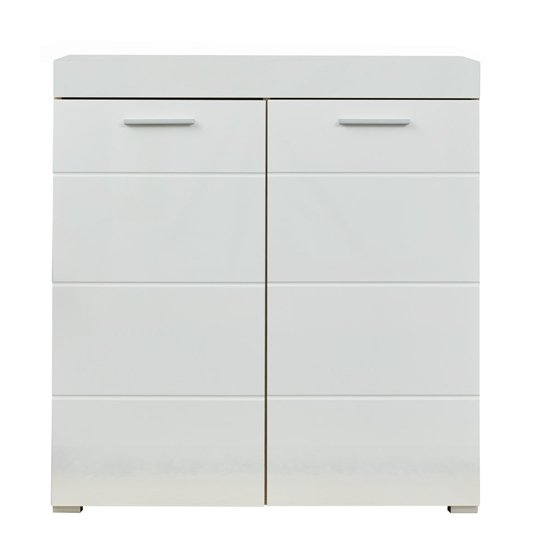 Amanda Small Sideboard In White High Gloss