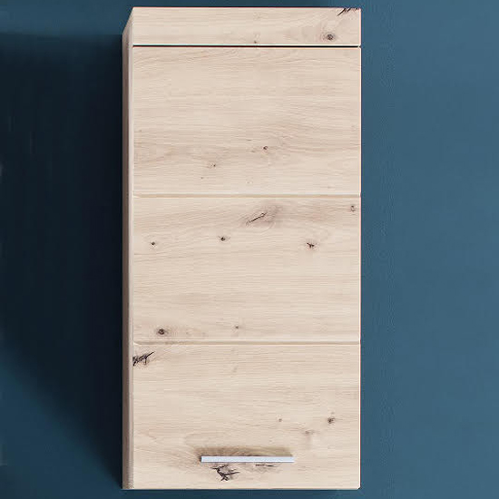 Amanda Wall Storage Cabinet In Knotty Oak