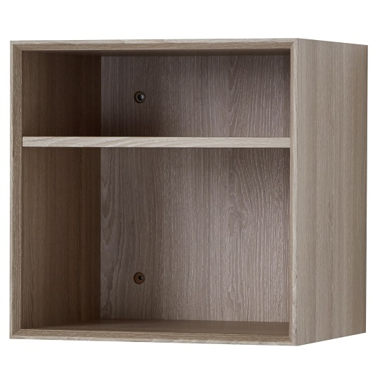 Amber Wall Mounted Shelving Unit In Sonoma Oak 30381