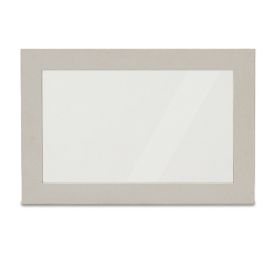 Amberly Wall Bedroom Mirror In Grey