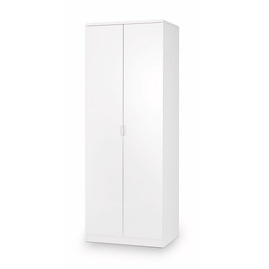 Arden Contemporary Wardrobe In White High Gloss_1