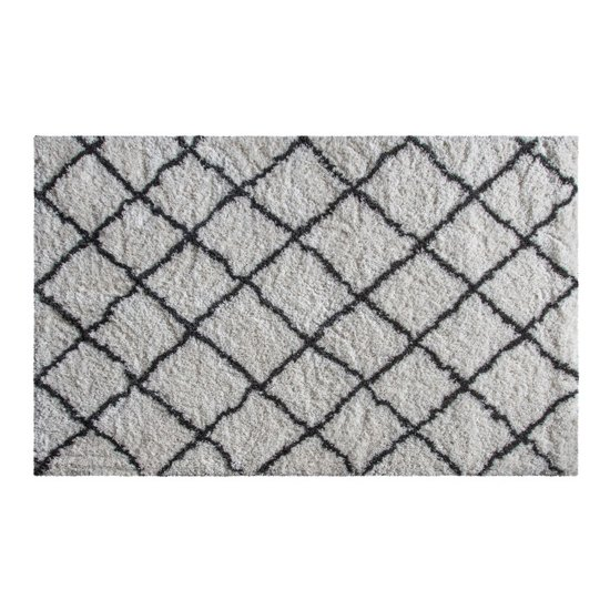 Andes Medium Fabric Upholstered Rug In Cream