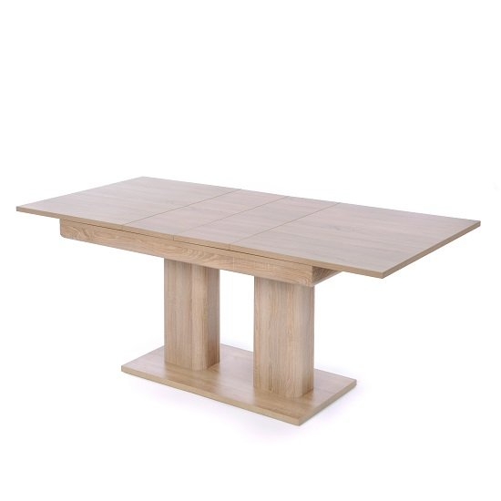 Andorra Wooden Extendable Dining Table In Sonoma Oak_2