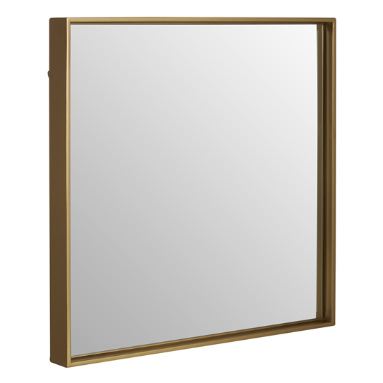 Andstima Small Square Wall Mirror In Gold_2