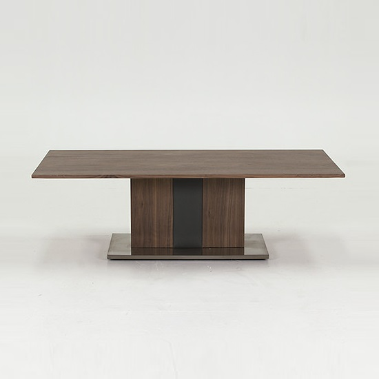 Angelo Coffee Table Rectangular In Walnut And Grey PU_2