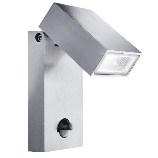 Stainless Steel Angular LED Outdoor Wall Light