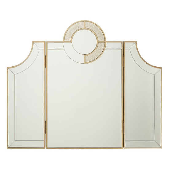 Antibes Contemporary Dressing Table Mirror