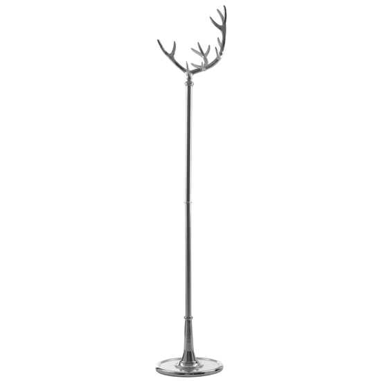 Antlar Metal Coat Stand In Silver
