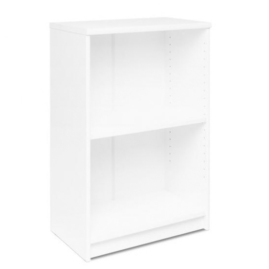 Aquarius Small Narrow Shelving Unit In White With 1 Shelve