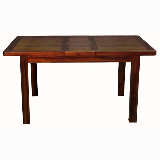Areli Large Extending Dining Table In Dark Acacia Finish