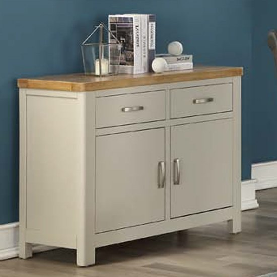 Areli Stone Painted Sideboard With 2 Doors And 2 Drawers