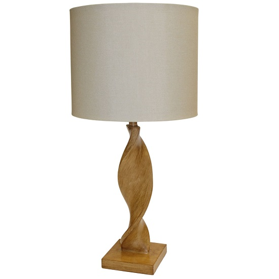 Argenta Table Lamp With Natural Linen Fabric Shade_2