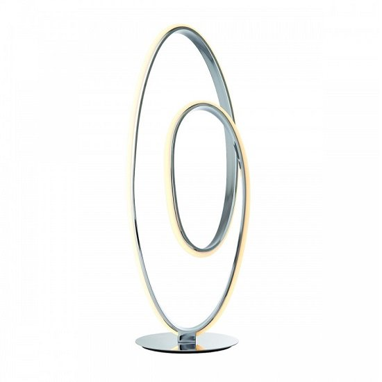 Aria Modern Hooped Design Table Lamp