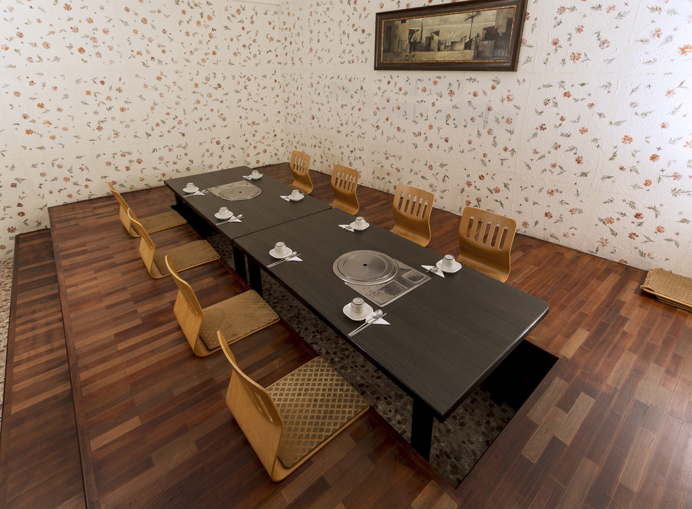 Square and Round Dining Tables For Eight