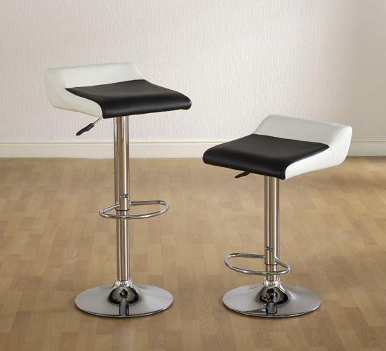 Sublime Leather Bar Stools